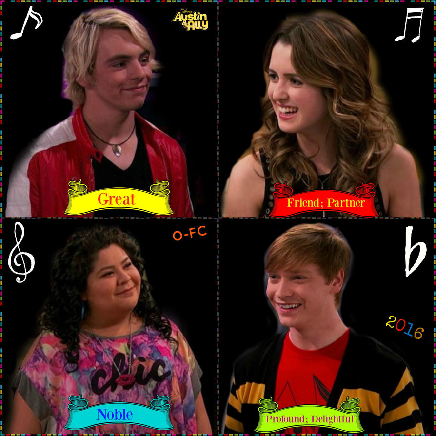 Austin and Ally Characters' Name Meanings by Orange-FeatherCanary