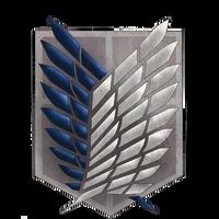 Scouting Legion shield - SNK by Sakkushi by SunnyDjoka