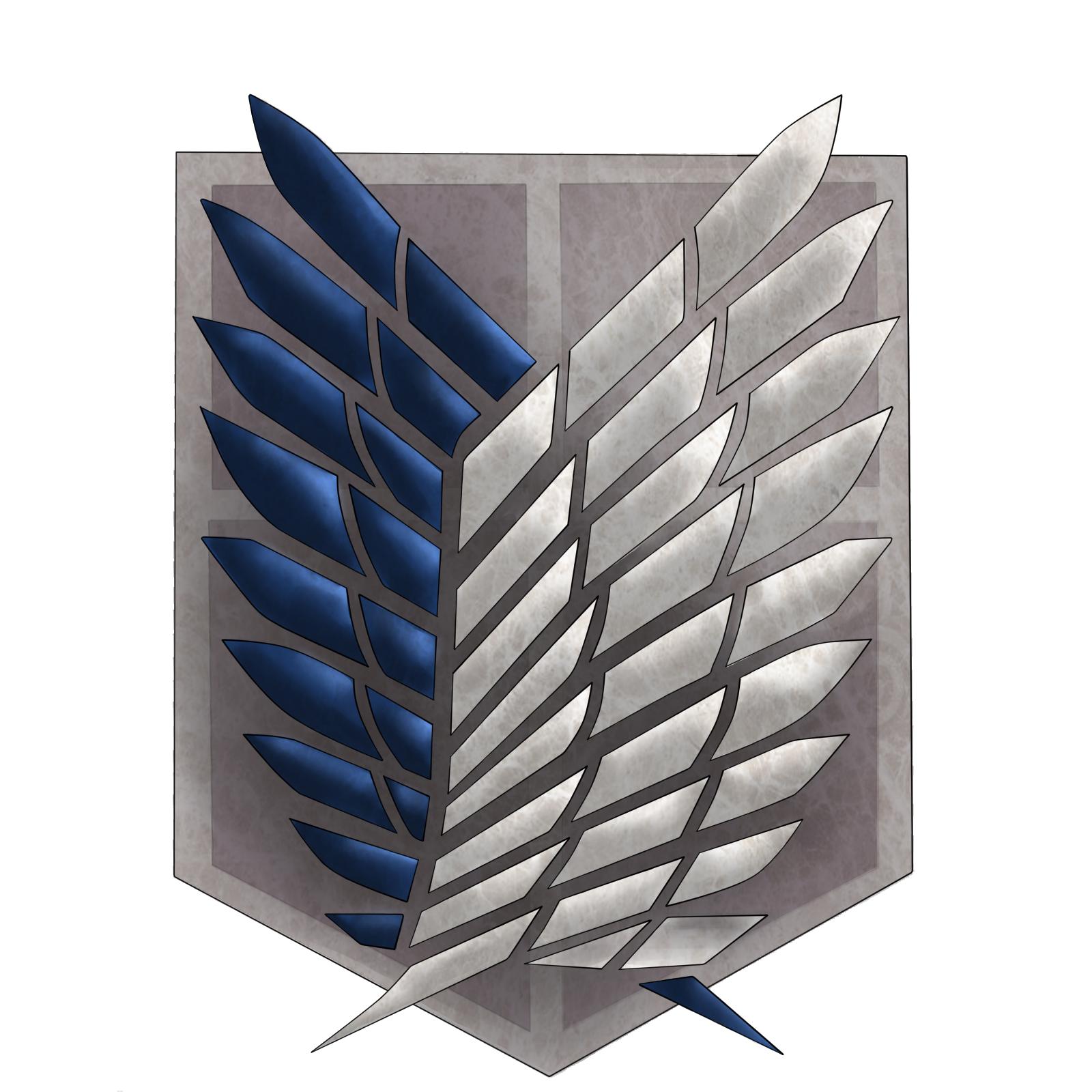 Scouting Legion shield - SNK by Sakkushi