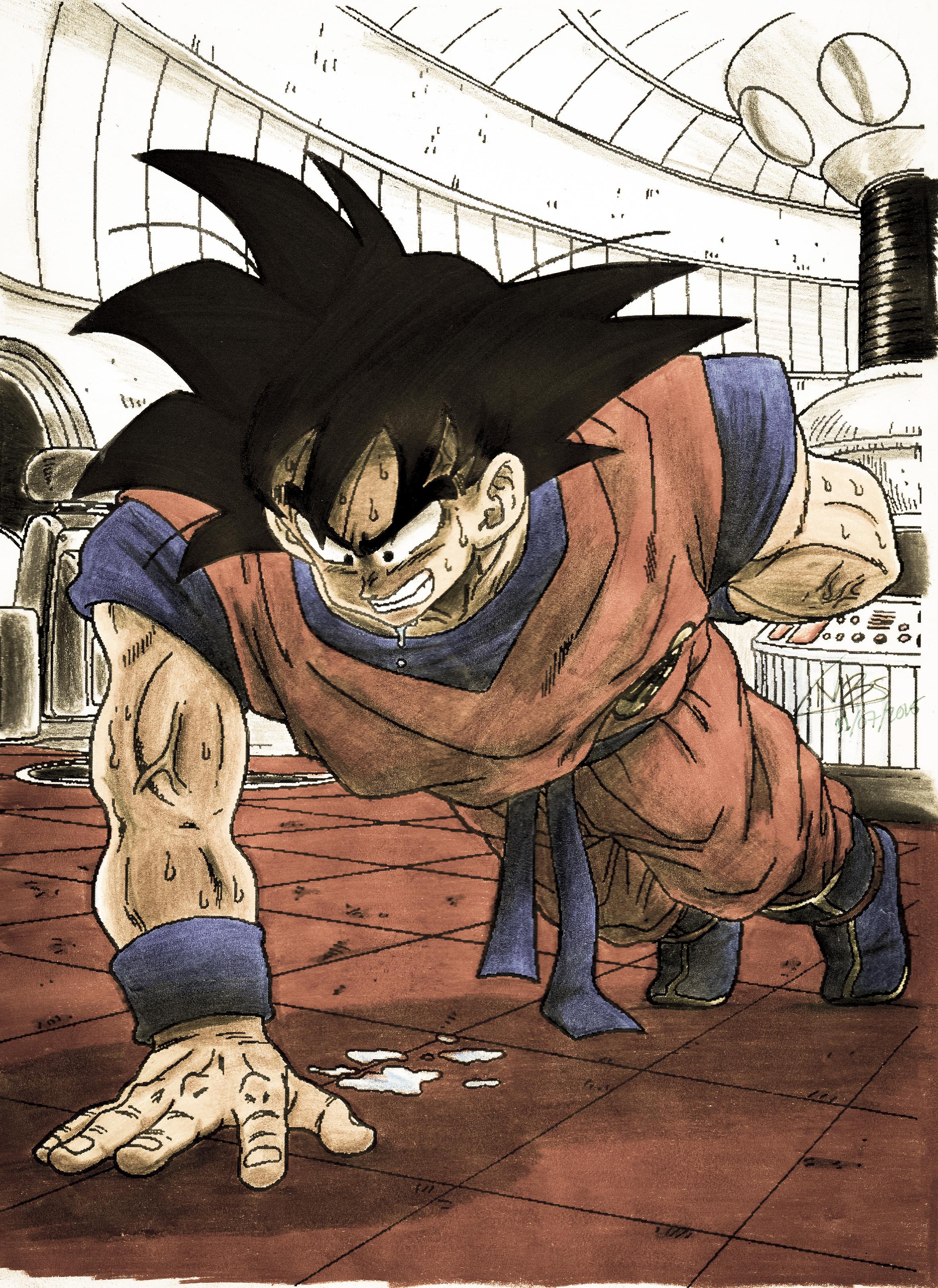 sức mạnh của Kaioken