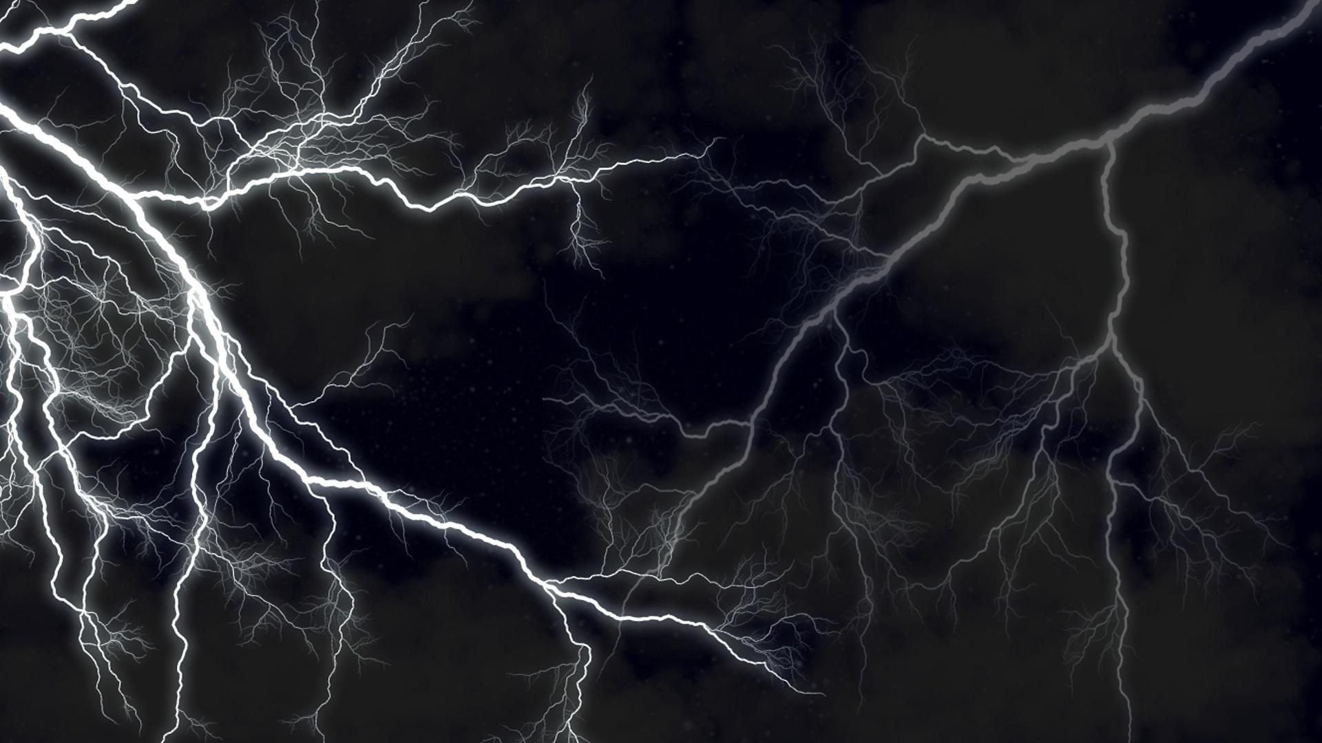 lightning black wallpaper - photo #8
