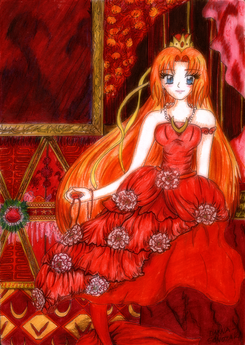 Red Mermaid by Mara517