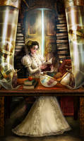 Librarian Priestess