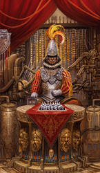 King of Swords (revised) by brass-and-steam