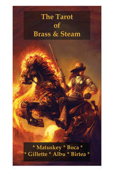 Tarot of Brass and Steam box cover!