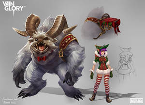 Snow Monster Joule~ Vainglory
