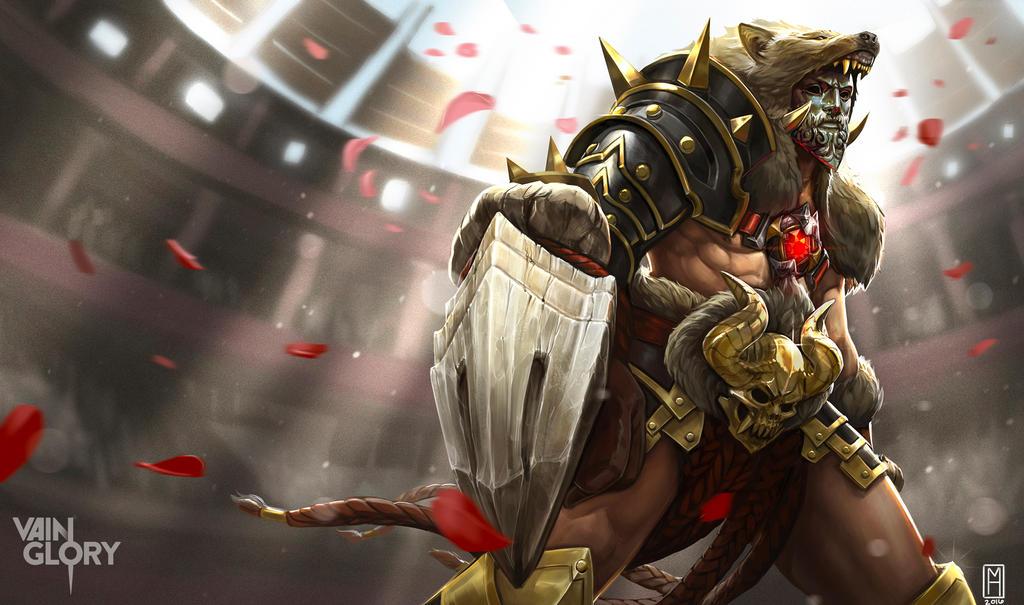 Ardan Gladiator Splash~Vainglory by Noxiihunter