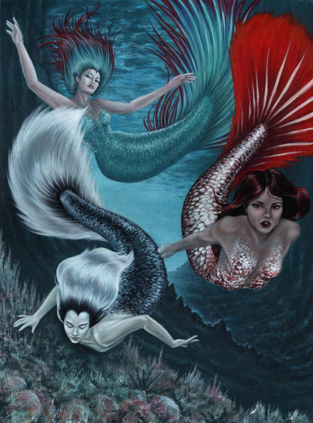 Merman And Mermaid In Love | www.imgkid.com - The Image ...