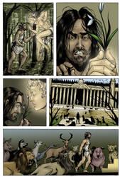 Circe Odysseus Comic pg 1 by Carliihde