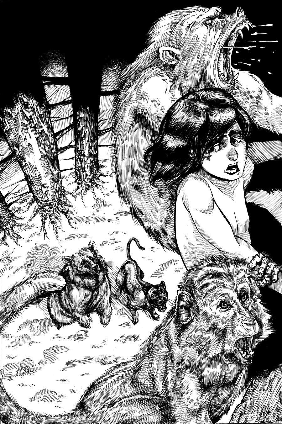 Jungle Book: Monkey Abduction