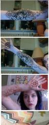 Newest Henna Design by Carliihde