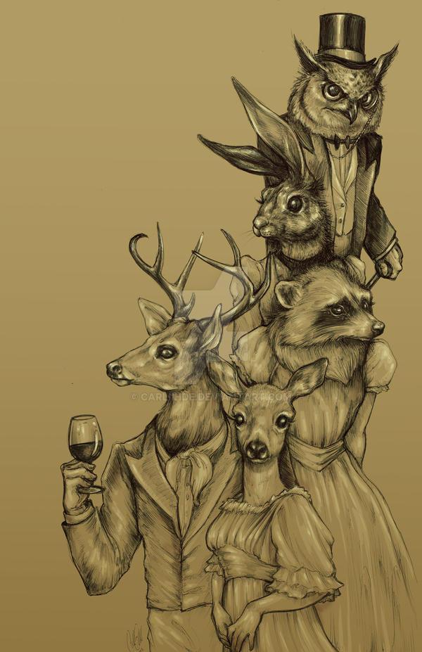 A Woodland Soiree by Carliihde