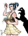 Brenda and the Demon $35 Digital sketch