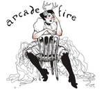 Stuck in a Rut Arcade Fire Tshirt Design
