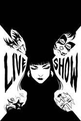 KISS/Vampirella #3 Variant Cover Lines by Carliihde