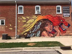 The Power of Creativity Final Mural