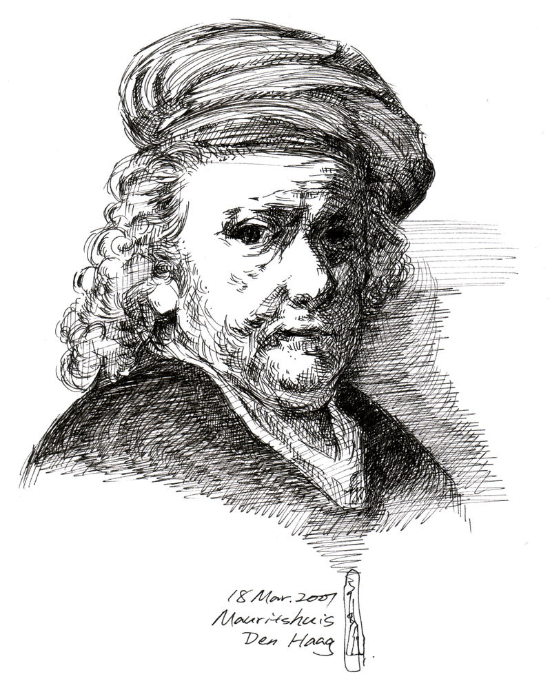 rembrandt coloring pages - photo#33