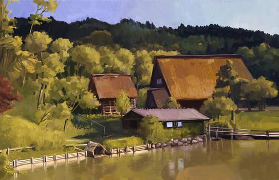 landscape for Digital Artist
