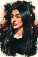 Irene Of Red Velvet Fan Art by MarloweART22