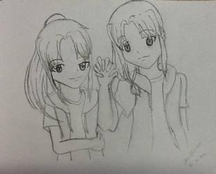Naoki and Aki Mizutani by EuphemiaElseaYue
