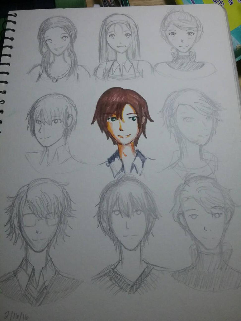 Character Designs from FltL by EuphemiaElseaYue