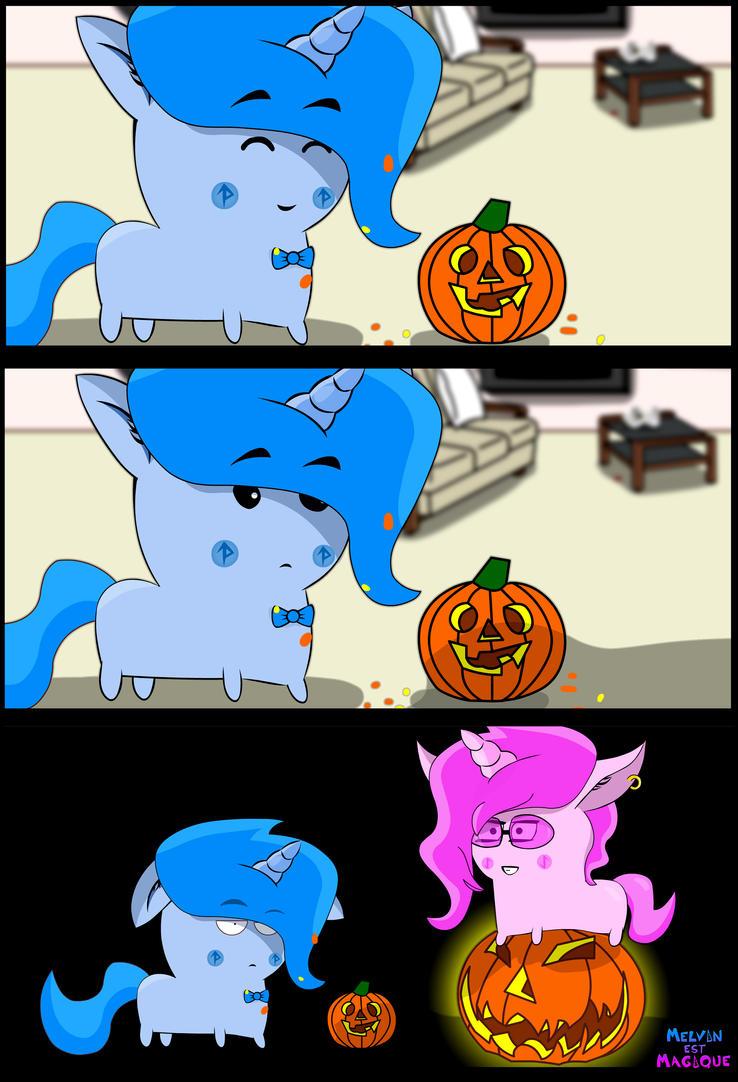 Happy Halloween my sweet unicorns ! by OhPonyBoy
