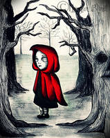 Little Red Riding Hood by MorganBlindness