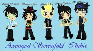 Avenged Sevenfold Chibis
