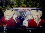 Trigun on Car