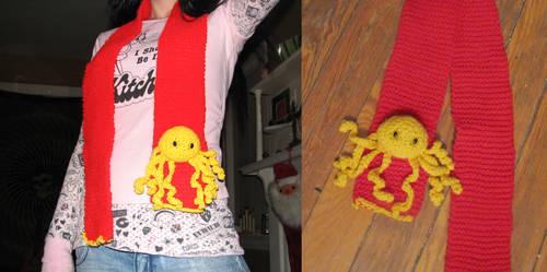 octopus scarf. by ennuizero