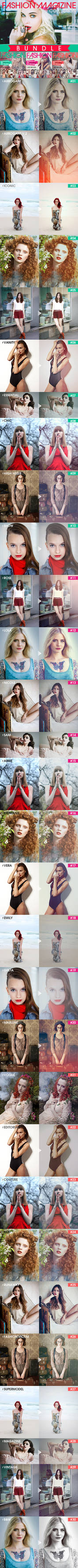 Fashion Magazine Actions -BUNDLE-