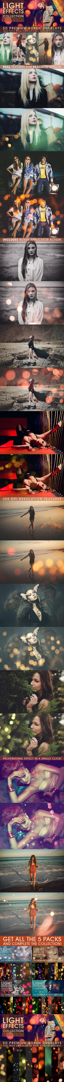 Light Effects Collection BOKEH Vol.5 by LuciferB