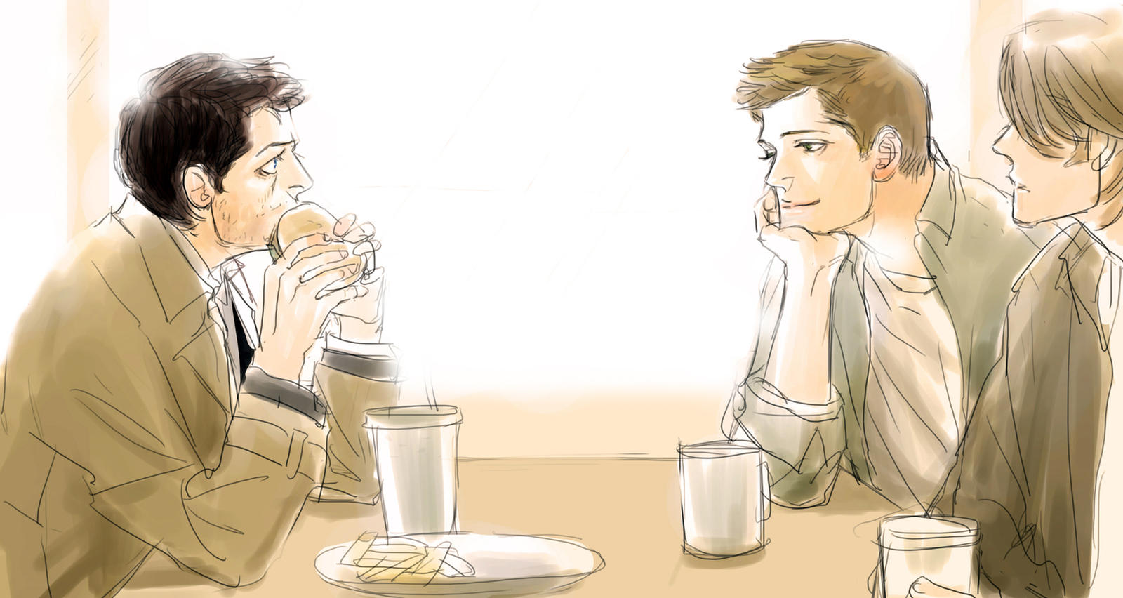 Destiel by sweetdari