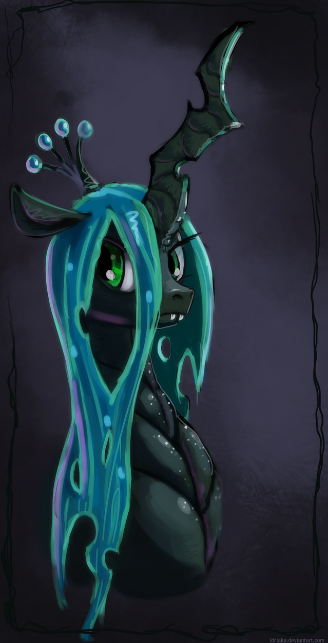 Chrysalis Portrait by Idriaka