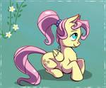 Ponytail Fluttershy