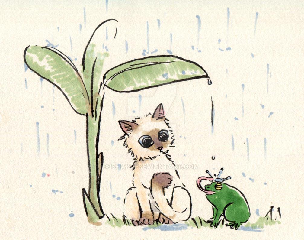 Panda Funny Rainy Day By Shakri On Deviantart