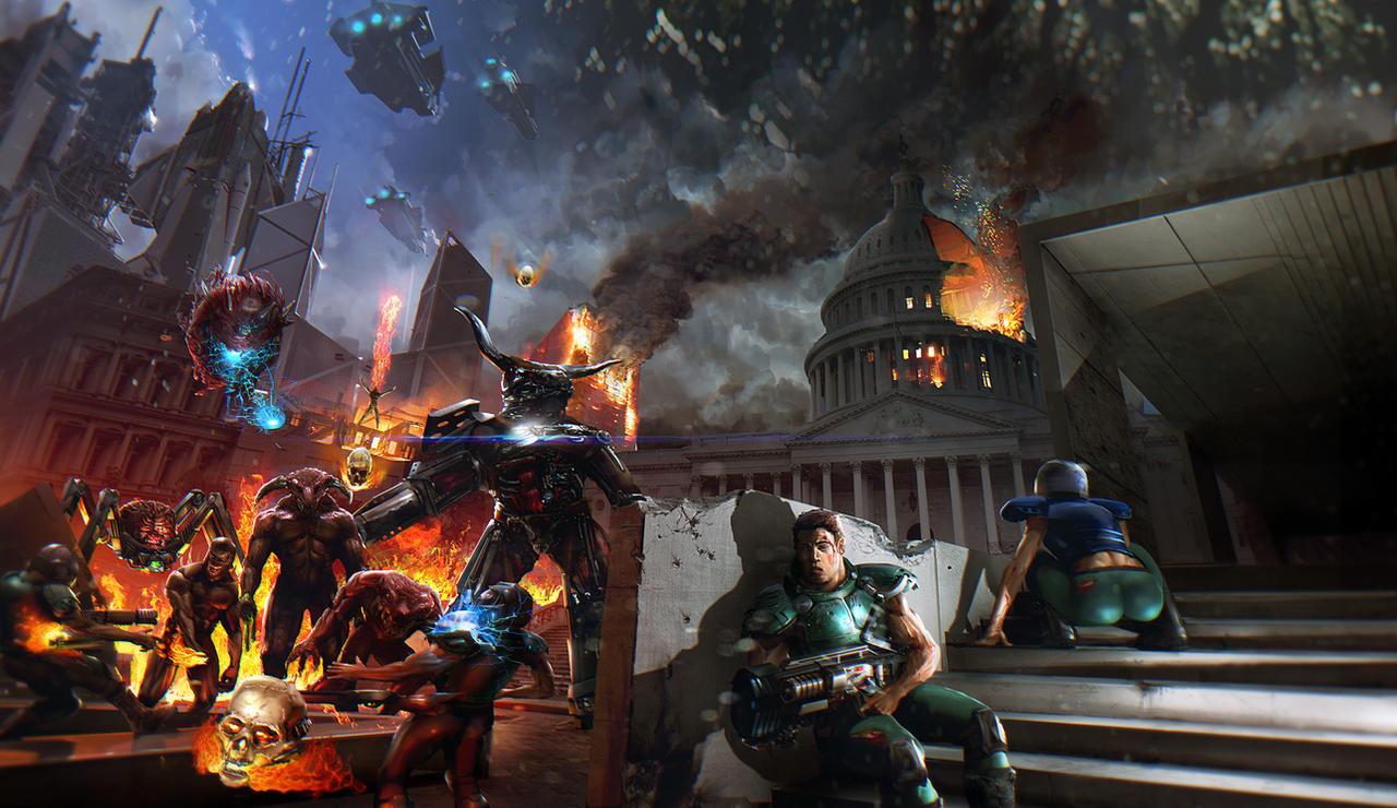 Doom4 Small by ellorygm