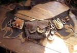 LARP Leather belt