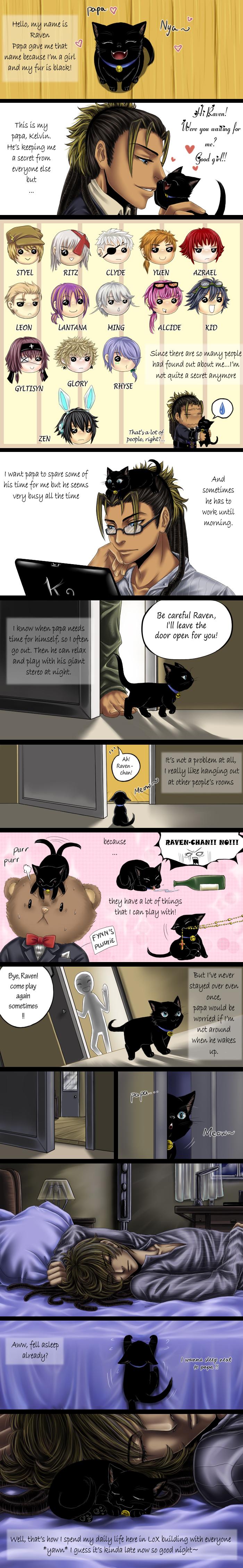 LoX-Kelvin's little secret by GarnetQuyenDinh