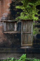 Old Window by Kuldip