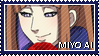 Miyo Ai stamp by Purinsesu-stamps