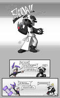 Panda!! the Supervillain by Alodo