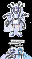 Ikalodo 'Belt-Squid-Neko' de geso by Alodo