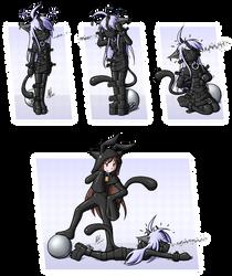 Latex Neko Catsuit Fun Extravaganza Yay? by Alodo