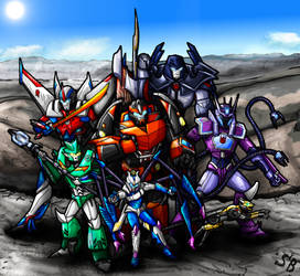 Decepticons (Shattered Glass Prime) by SoundBluster