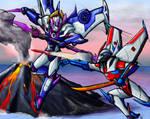 Windblade vs Starscream (SG)