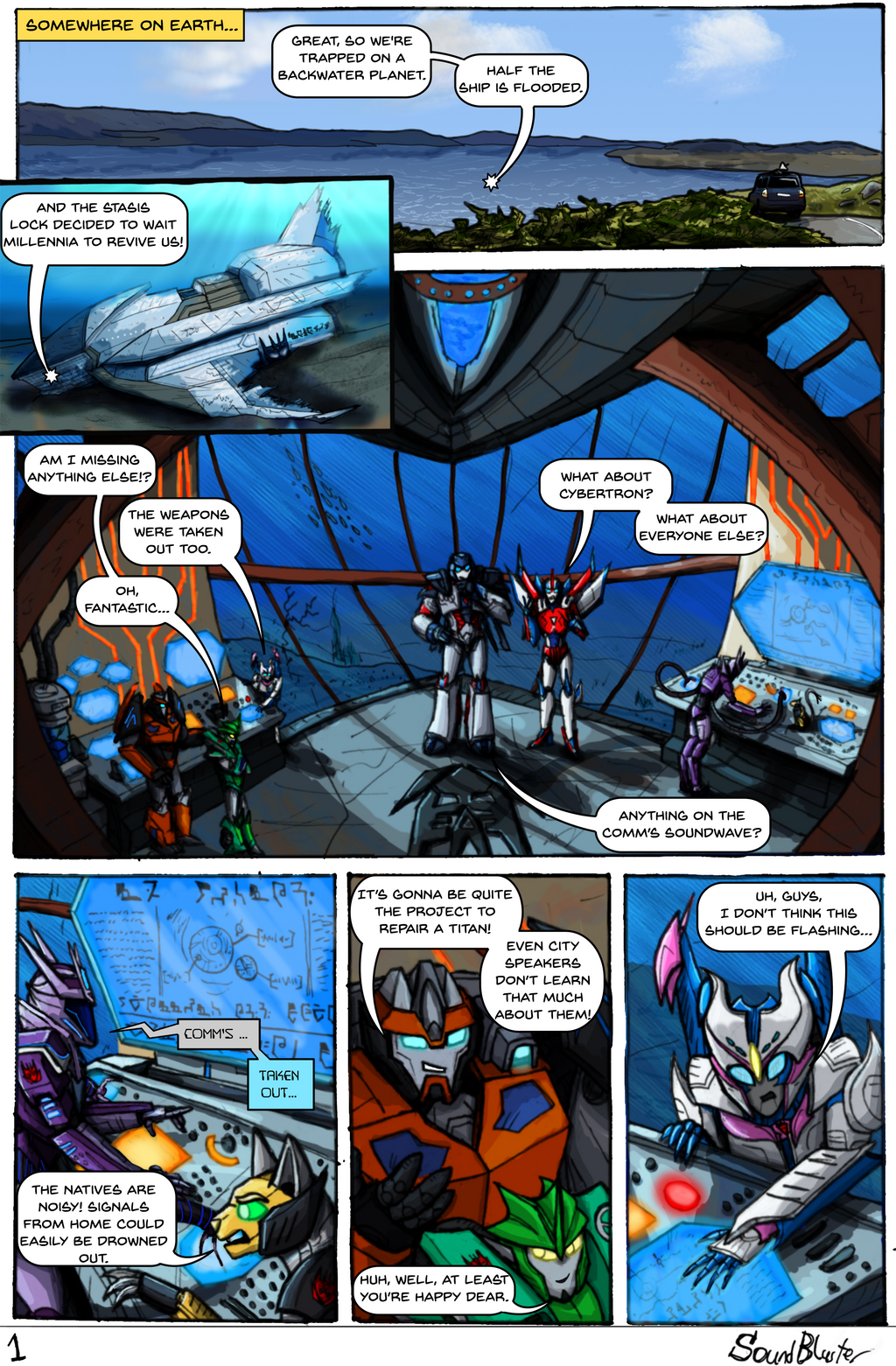 Shattered Glass Prime - Page 1