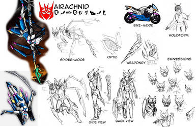 Reference Sheet (SG): Airachnid by SoundBluster