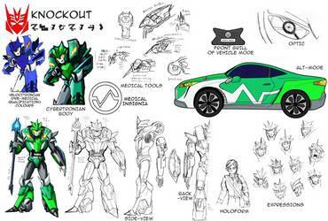 Reference Sheet (SG): Knockout by SoundBluster