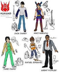 Reference Sheet (SG): Humans by SoundBluster